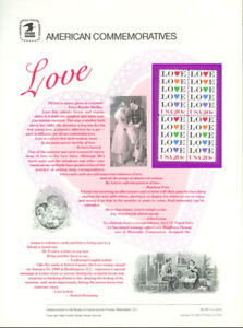 208-20c-Love-Stamp-Hearts-2072-USPS-Commemorative-Stamp-Panel