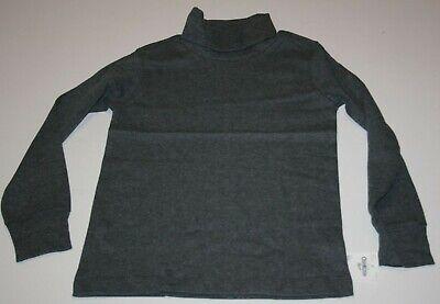 New OshKosh Boys Black Turtleneck Top Soft Knit 3T 4T 5T 7 8 10 12 14 year