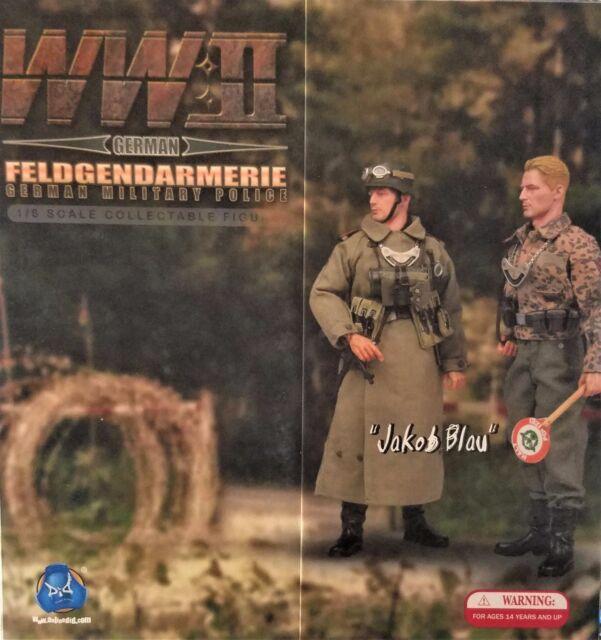 Did 1 6 Scale 12 Wwii German Feldgendarmerie Jakob Blau Action