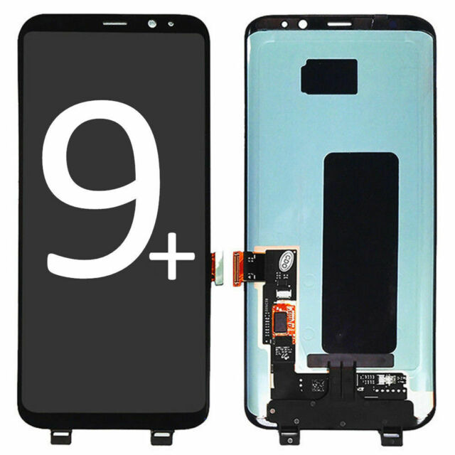 LCD Touch Digitizer Screen Replacement For Samsung Galaxy S9 Plus G965 Black dot
