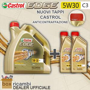6 L LITRI OLIO MOTORE CASTROL EDGE 5W30 FST LONGLIFE VW 505.01 MB 229.31