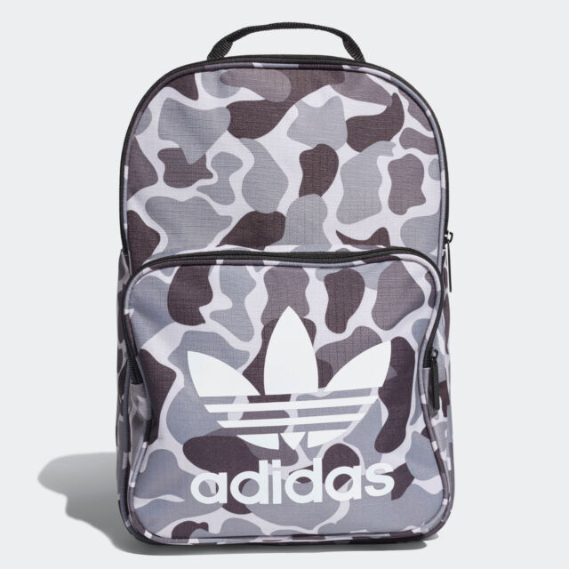 genuine shoes arriving amazon Adidas Originals Camo Trefoil Backpack Camouflage Unisex Multipropose DH1014