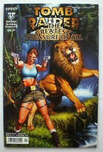 LARA CROFT Tomb Raider Comic The Greatest Treasure of All Top Cow Infinity dt. !