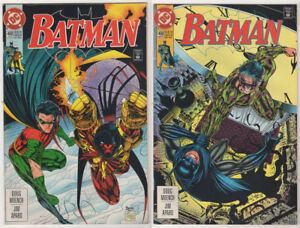 BATMAN-LOT-20-1993-07-FN-VF-Poison-Ivy-Robin-Joker-Catwoman-Riddler-Scarecrow