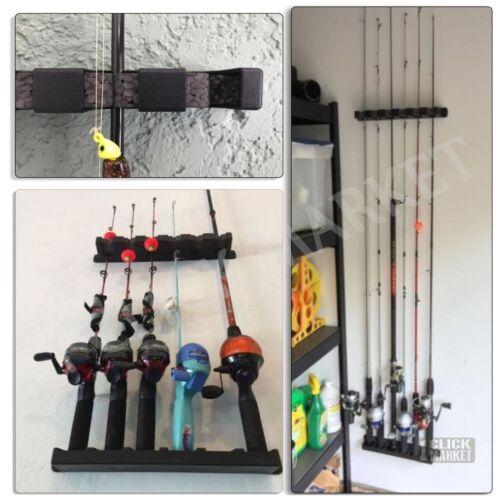 Fishing Rod Rack Holder Berkley Rod Vertical Pole Holder Wall Storage Stand Gear