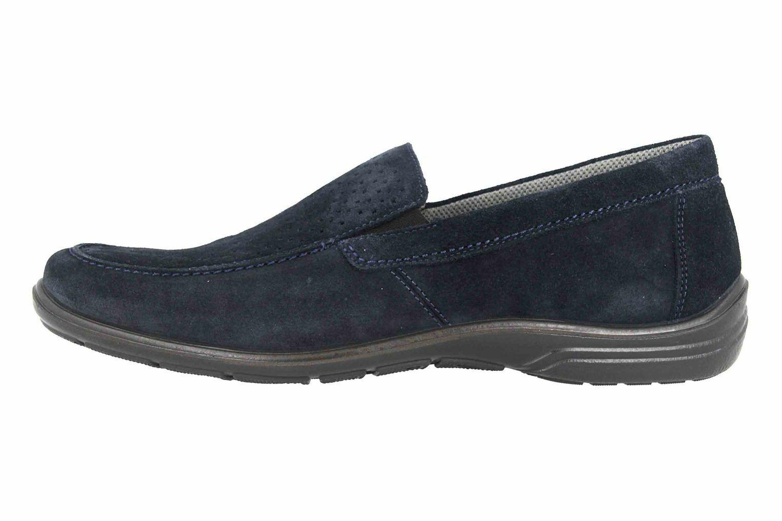 Jomos slipper en pijama azul 305310 84 845 grandes zapatos caballero