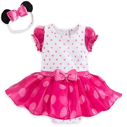 fcc8b3c8fc0 Disney Minnie Mouse Baby Girl Bodysuit Costume   Shoes Size 9-12m B22 for  sale online
