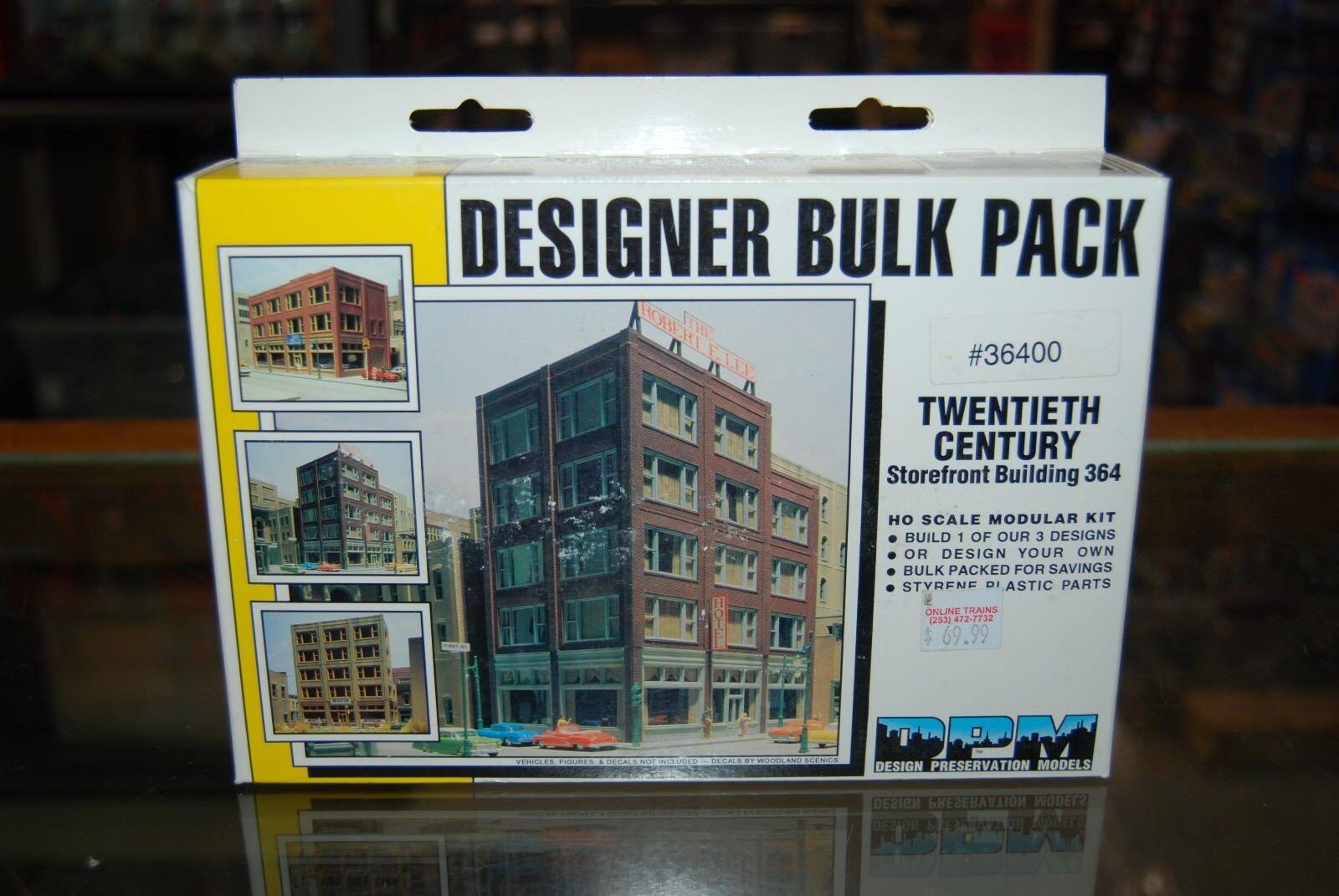 HO Scale DPM Modulars 36400  Designer Bulk Pack, Twentieth Century Storedavanti
