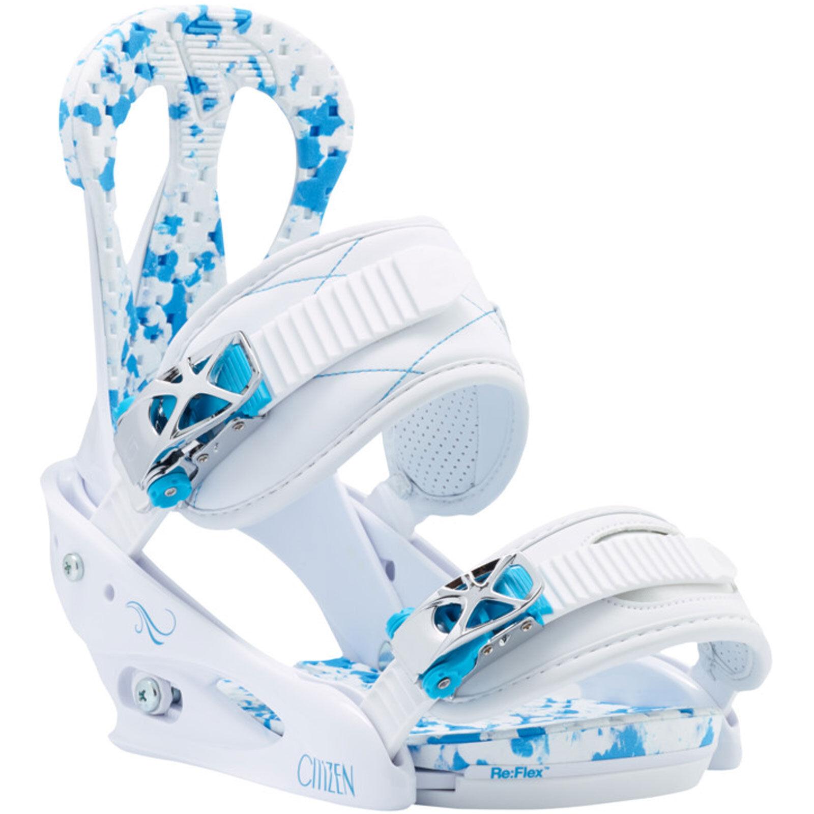 Burton Citizen Re Flex Damen Damen Damen Snowboardbindung Snowboard Bindung 2014-2018 NEU  | Sonderkauf  5ff236