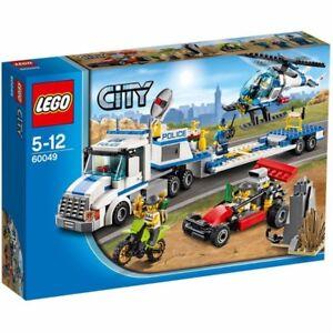 Lego City 60049: Le Transport De L'hélicoptère
