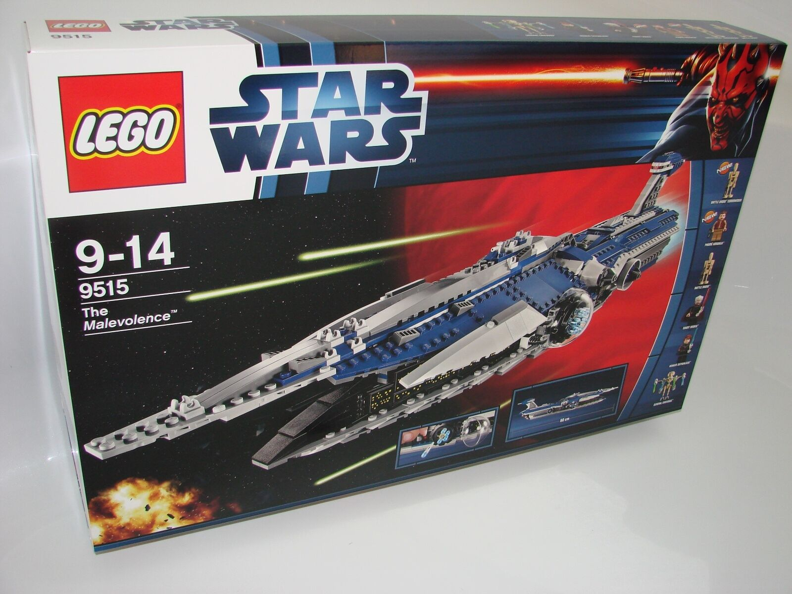 LEGO ® Star Wars ™ 9515 THE MALEVOLENCE ™ NUOVO OVP NEW MISB NRFB