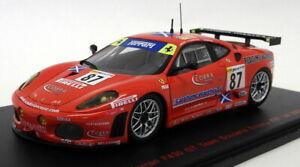 Red-Line-RL137-escala-1-43-Ferrari-F430-GT-Scuderia-Ecosse-87-Le-Mans-2007