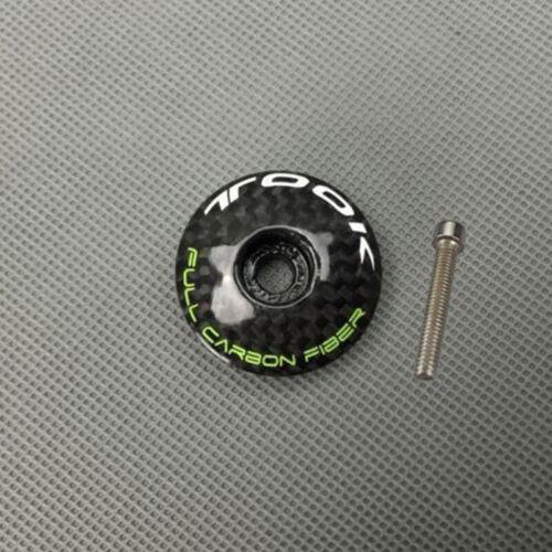 """Vorbau Oberteil Kappe Abdeckung mit Schrauben 1-1//8 /"""" 28.6mm Fahrrad Headset MTB"""