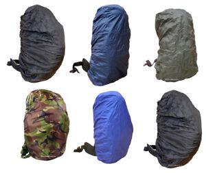Waterproof Backpack cover 30-40L Bag Camping Outdoor Rucksack Rain Dust UK Sale