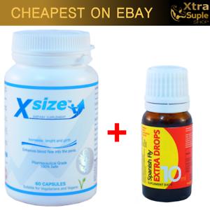 Xsize-XtraSize-Aumenta-Dimensioni-Pene-Grande-Allungamento-Spanish-Fly