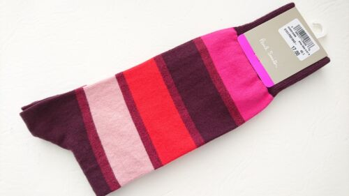 Paul Smith Chaussettes Hommes-BNWT Multicolore à Rayures Chaussettes//Uk Vendeur