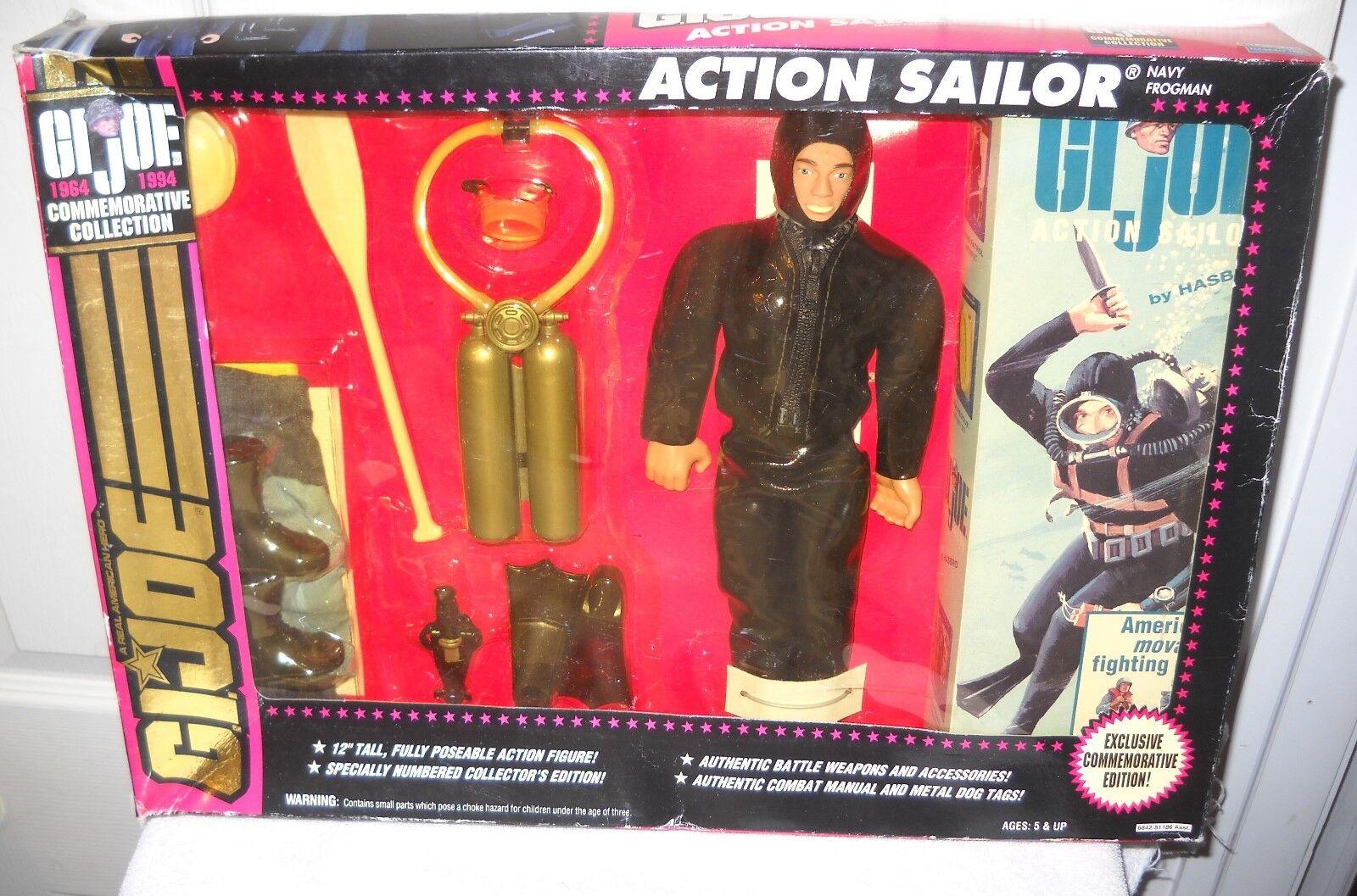 NIB Hasbro GI Joe 30th Anniversary Action Sailor 12  Figure