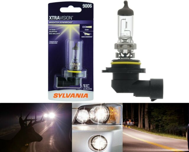 Sylvania Xtra Vision 9006 HB4 55W One Bulb Head Light Replace Halogen Lamp Fit