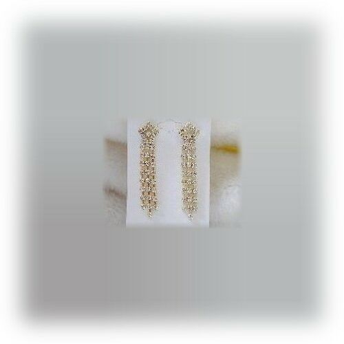 Fabuloso Cristal earrings-in Caja De Regalo E39