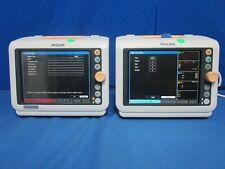 Lot Of 2 Philips Suresigns Vm6 Patient Monitors