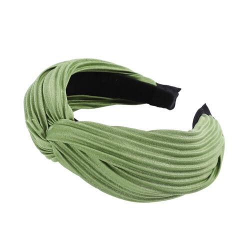 Ladies Pleated Cross Headband Alice Hairband Plain Alice Hair Band Accessories