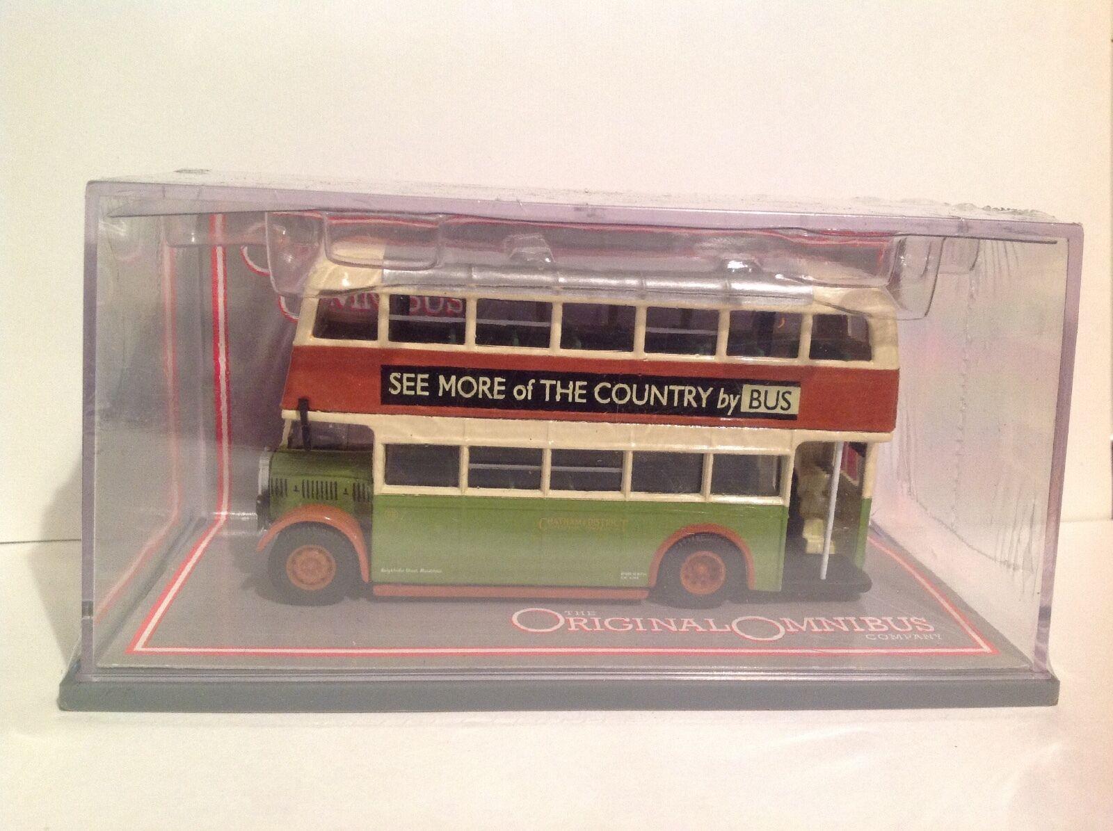Corgi OM43912 Bristol K Utility buss Chatham Dist. Traction Co. LTD Ed. 0572  2800