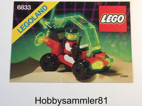 Lego® 6833 Legoland Space Bauanleitung M:Tron Beacon Tracer