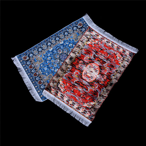 10//15cm Starry Night Flower Carpet 1//12 Dollhouse Miniature Home Decor For BE
