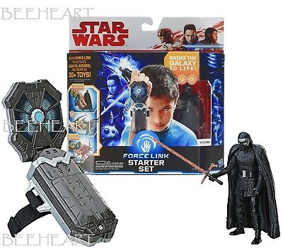 Film, TV & Videospiele HASBRO STAR WARS E8 FORCE LINK STARTER SET ACTION FIGURE