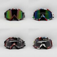 Snowmobile Snowboard Ski Goggles Eyewear Off-road Sports Glasses Graffiti Frame