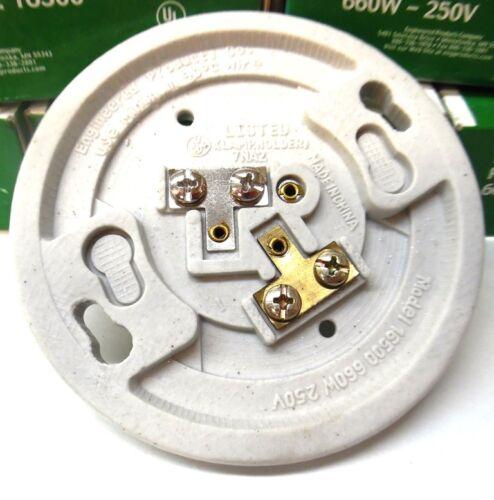 PORCELAIN LAMP HOLDER ENGINEERED PRODUCTS 660W-250V 16500 LOT OF 5