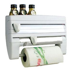 Image Is Loading Kitchen Roll Holder Cling Film Tin Foil Towel