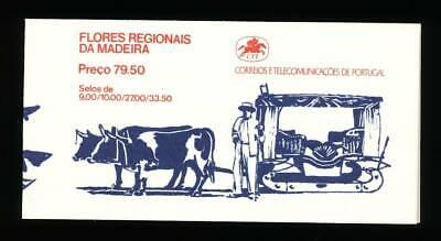 Europa Portugal Madeira Markenheft Nr.2** Blumen Dauerhaft Im Einsatz Logisch 170853