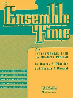 Orderly Ensemble Time C Flutes Oboe For Instrumental Trio Or Quartet Playing E 004474640 Instruction Books, Cds & Video Musical Instruments & Gear