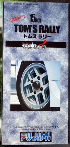Gelände-Reifen 1:24 Fujimi 193083 Felgen Tom´s Rallye 15 Zoll inkl