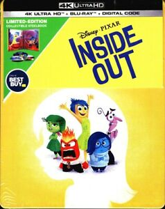 Disney-Pixar-Inside-Out-4K-Ultra-HD-Bluray-Digital-STEELBOOK-leer-descripcion