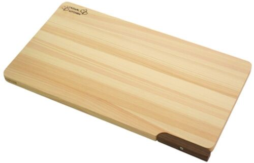 Japanese Wooden Cutting Board with Stand Japanese cypress Hinoki
