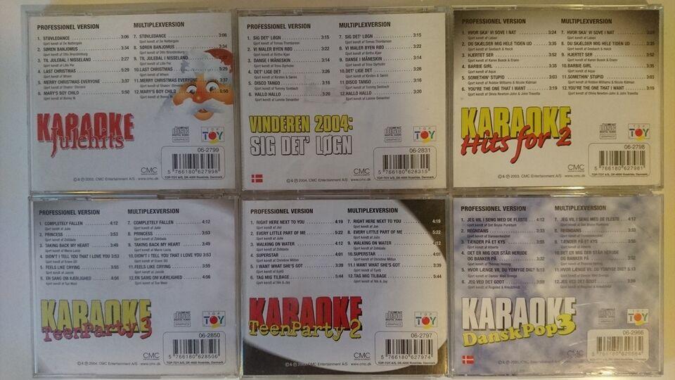 Dansk Karaoke Cd+g Disks: Danske + - dba.dk - Køb og Salg