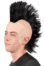 Klassische Punk Irokesen Perücke NEU - Karneval Fasching Perücke Haare
