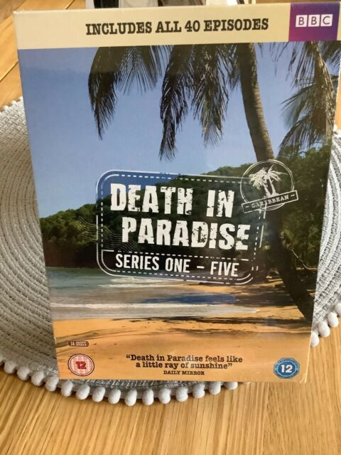 DEATH IN PARADISE SERIES 1-5 New Sealed