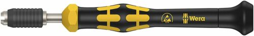 Wera 05074800001 Kraftform Micro ESD Pre-Set Torque Screwdriver 0.035 Nm