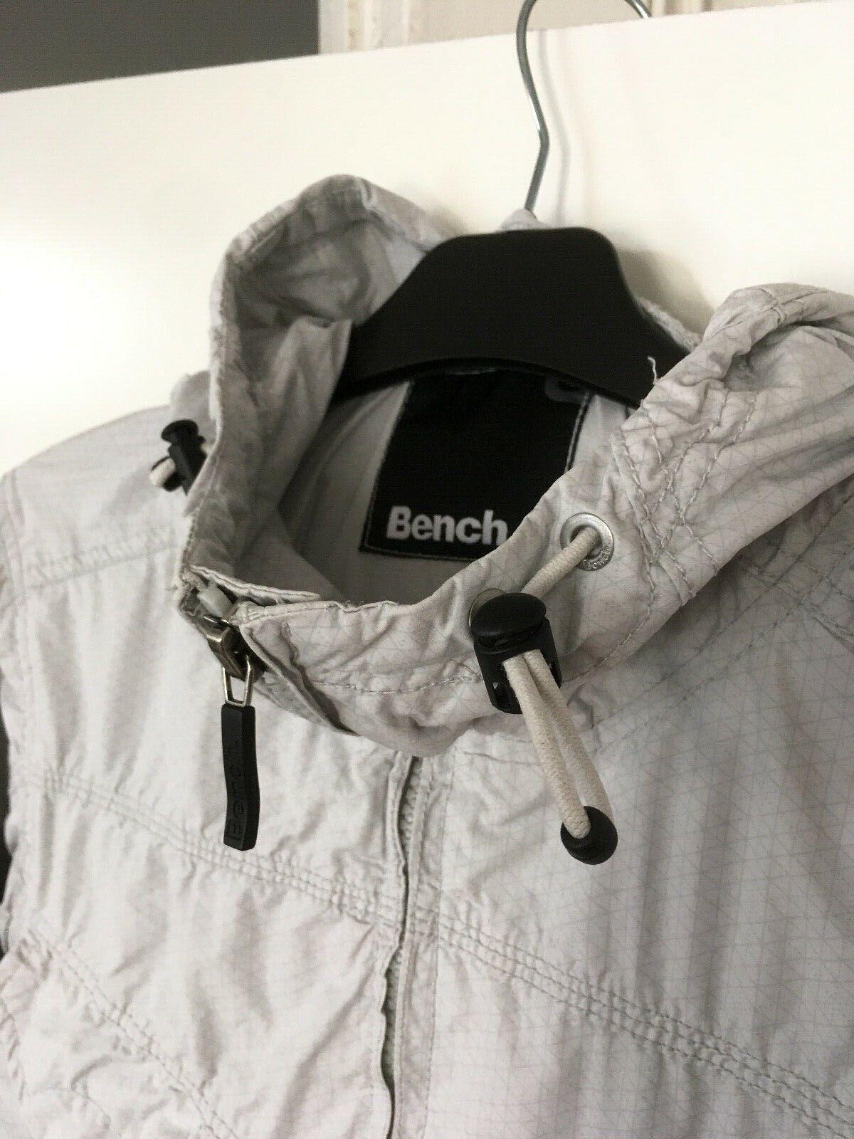BENCH Jacke Blouson (No.0251438) Kapuze Gr. M Windbreaker Jacket