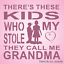 Joanie Stencil These Kids Who Stole My Heart Grandma Typography Art Signs