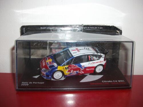 citroën C4 WRC rally de portugal 2009 loeb elena 1//43