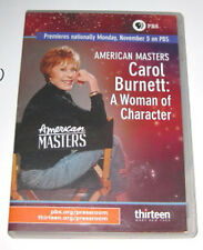 CAROL BURNETT: A WOMAN OF CHARACTER, RARE 2007 DVD - PBS, DOCUMENTARY, BIOGRAPHY