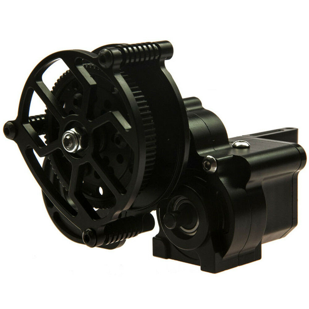 Aluminum Transmission Case Center Gearbox for Axial Wraith 1 10 RC Crawler Car