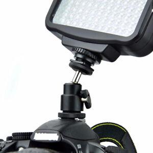 1-4-Inch-Black-Ball-Head-Bracket-Holder-Mount-For-Camera-Tripod-Shoe-Adapter