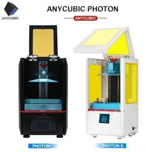 EU ANYCUBIC Imprimante 3D Printer Photon S Double axe Z |LCD Photon Résine UV