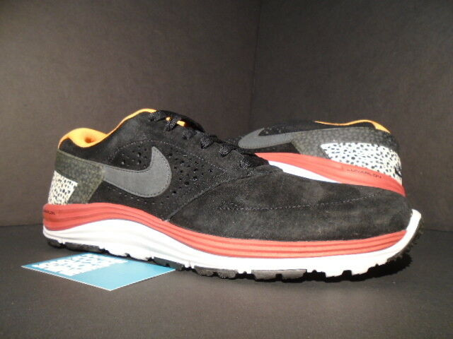 2012 NIKE LUNAR ROD SB PAUL RODRIGUEZ SAFARI BLACK GREY orange RED 537693-008 10