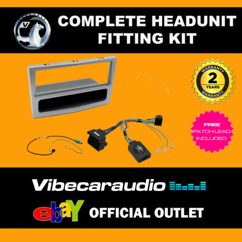 Connects2 CTKVX16 Vauxhall Astra H Corsa Stereo Fascia Replacement Fitting Kit